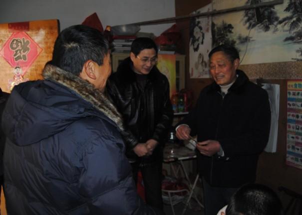金太阳党支部开展走访慰问困难党员活动